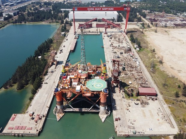 Dung Quat Shipyard rides out COVID storm hinh anh 7