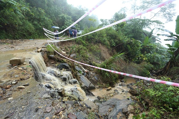 Natural disasters cause multi-million USD damage to northern mountainous region hinh anh 1