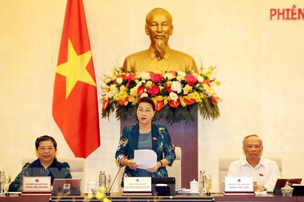 NA Standing Committee convenes 46th meeting hinh anh 1