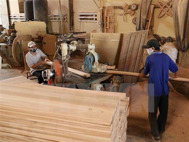 Forestry exports reach 5.3 billion USD in six months hinh anh 1