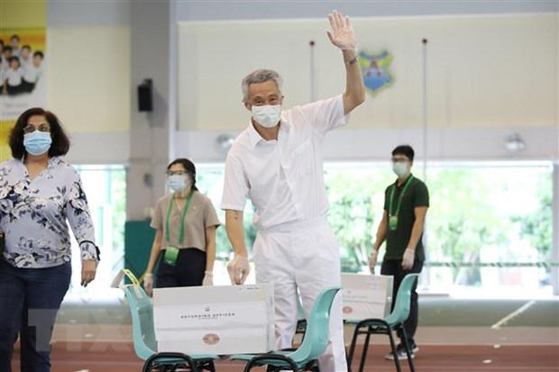 Congratulations extended to Lee Hsien Loong over PAP's election victory hinh anh 1