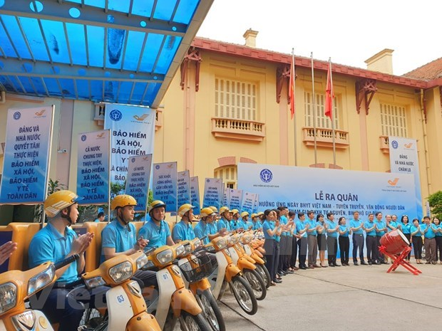 Campaign helps increase social, health insurance coverage hinh anh 1