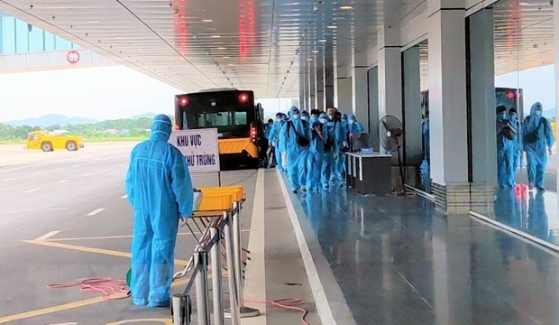 Vietnam records eight new imported COVID-19 cases hinh anh 1