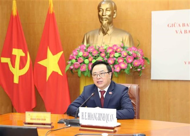 Vietnamese, Cuban Parties look to forge ties hinh anh 1