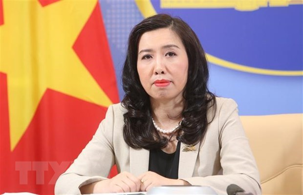 Vietnam welcomes East Sea stance in line with law: Foreign Ministry spokesperson hinh anh 1