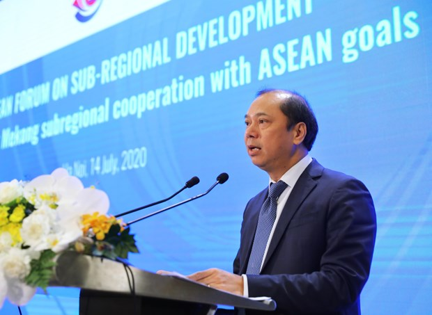 ASEAN looks to boost sub-regional development hinh anh 1