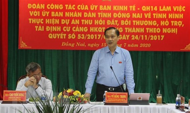 Dong Nai urged to maintain resources for land clearance for Long Thanh airport hinh anh 1