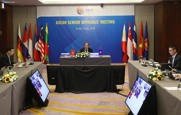 Building ASEAN Community remains top priority: Senior ASEAN officials hinh anh 1