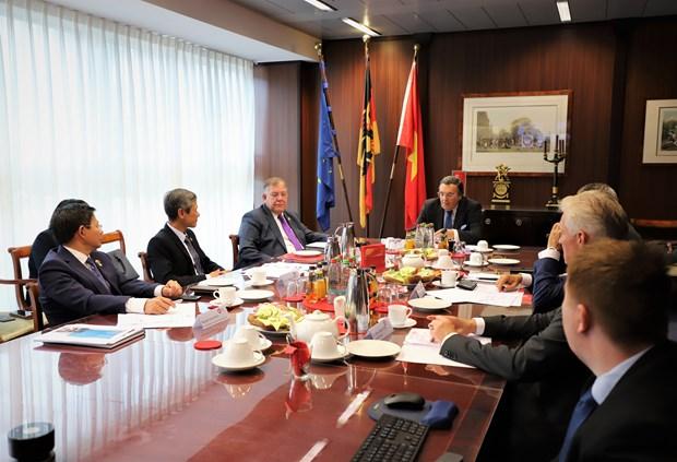 Vietnam a highly potential market for German SMEs: workshop hinh anh 1
