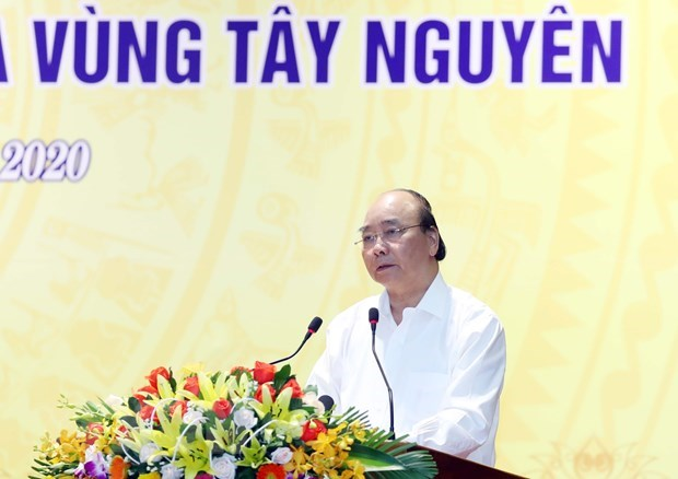 PM urges central, Central Highlands provinces to speed up public investment disbursement hinh anh 1