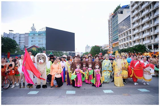 HCM City in urgent need of public art space hinh anh 1