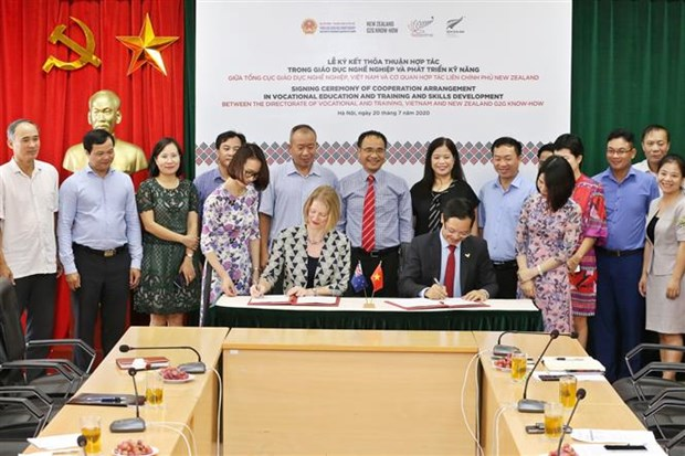New Zealand helps improve Vietnam's vocational training hinh anh 1