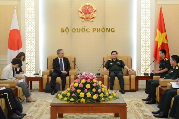 Vietnam values comprehensive ties with Japan: Defence Minister hinh anh 1