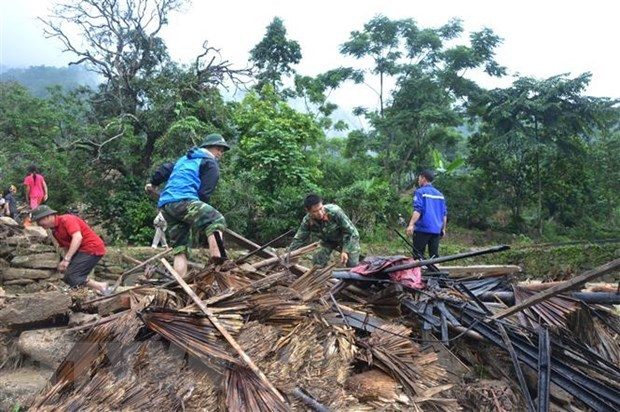 Flooding causes serious damage to northern mountainous region hinh anh 1