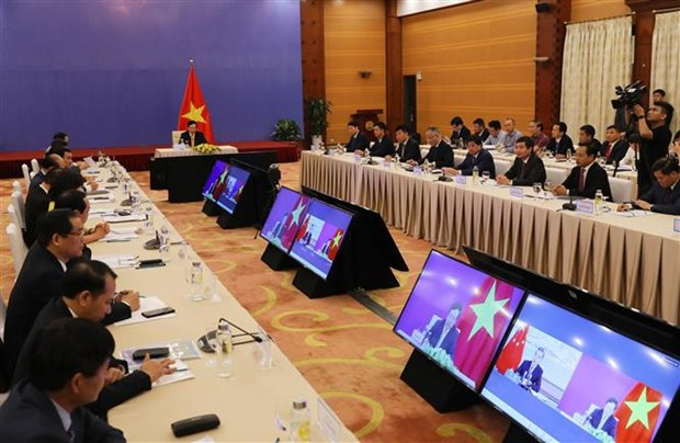 Steering Committee for Vietnam-China Bilateral Cooperation holds 12th meeting hinh anh 1