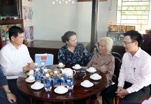 NA leader pays working visit to Ba Ria-Vung Tau hinh anh 1
