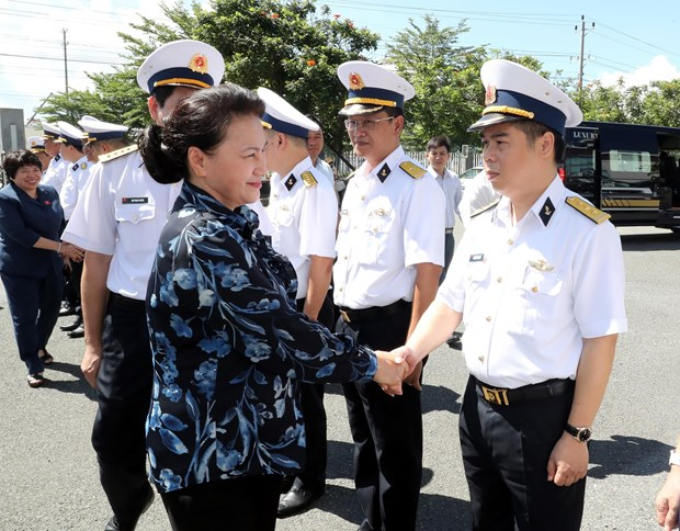 NA leader pays working visit to Ba Ria-Vung Tau hinh anh 2