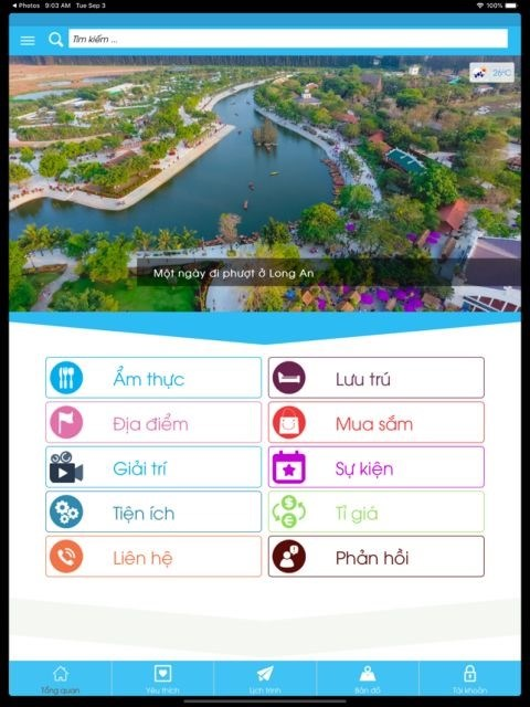 Long An province launches tourism portal and app hinh anh 1