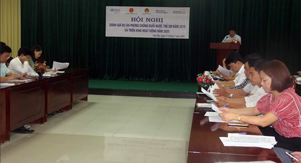Child drowning prevention project in Yen Bai gains positive results hinh anh 1