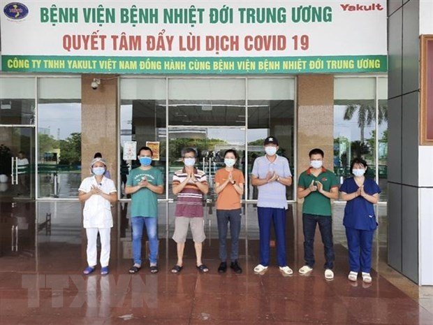 No new community transmissions of COVID-19 for 99 straight days in Vietnam hinh anh 1