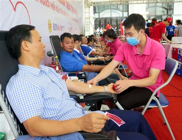 Thai Nguyen launches blood donation drive hinh anh 1