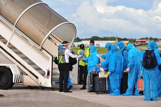 Vietnamese workers in Uzbekistan to be brought home soon hinh anh 1