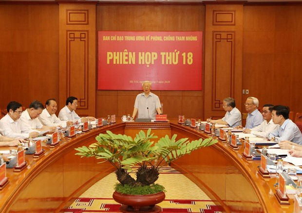 Corruption fight increasingly drastic, effective: top leader hinh anh 1