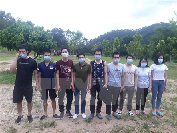 Six held for organising illegal entry hinh anh 1