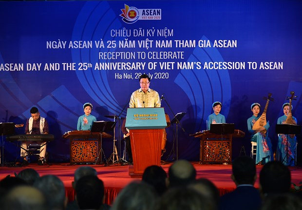 Deputy PM: Joining ASEAN marks strategic decision of Vietnam hinh anh 1