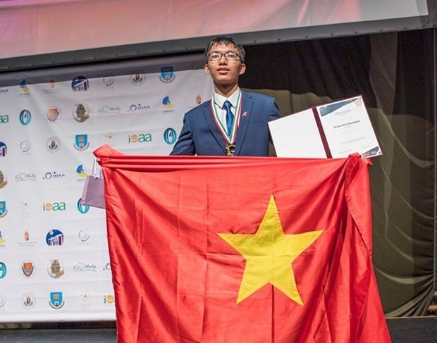 Four Vietnamese students pick up medals at 2020 European Physics Olympiad hinh anh 1