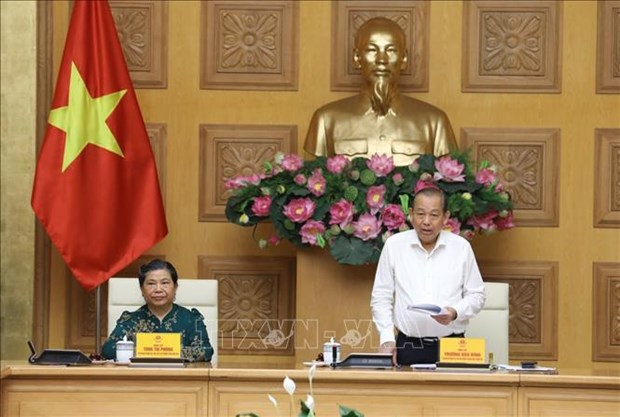 Preparations for second National Congress of Vietnamese Ethnic Minorities discussed hinh anh 1