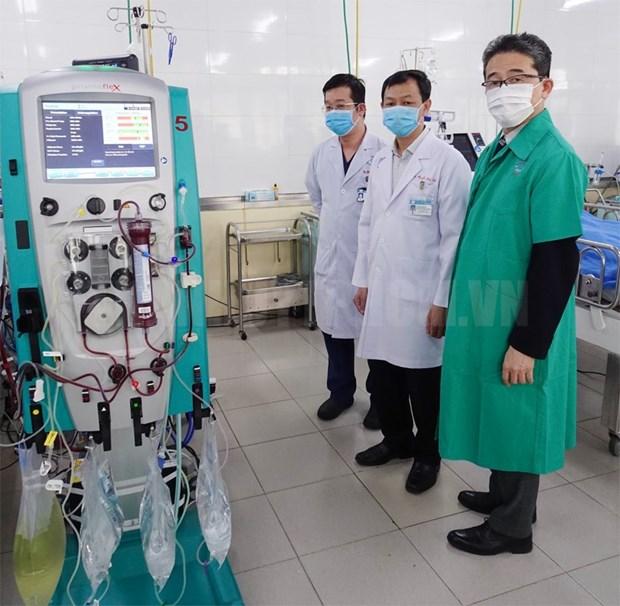 JICA provides COVID-19 treatment equipment for Cho Ray Hospital hinh anh 1