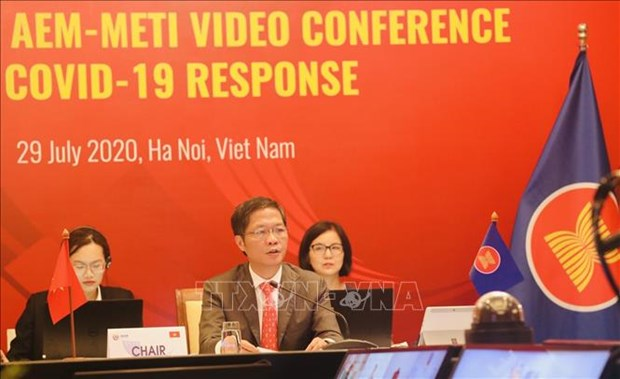 ASEAN, Japan adopt COVID-19 economic resilience action plan hinh anh 1