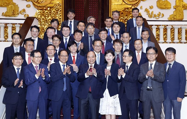 PM hosts RoK investors in Vietnam hinh anh 1