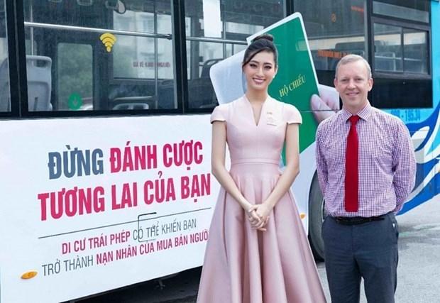 British Embassy initiates anti-human trafficking campaign in Vietnam hinh anh 1