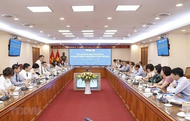 VNA, Vietnamese representative agencies abroad to enhance information cooperation hinh anh 1