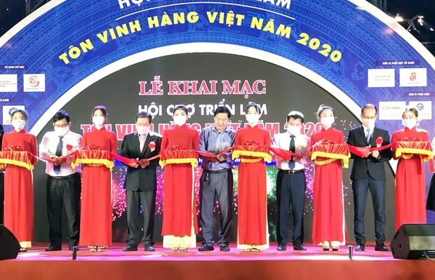 Trade fair honours Vietnamese goods hinh anh 1