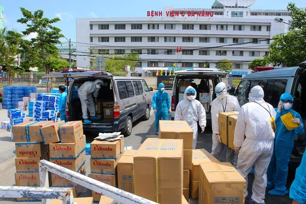 45 COVID-19 infections detected in Da Nang on July 31 morning hinh anh 1