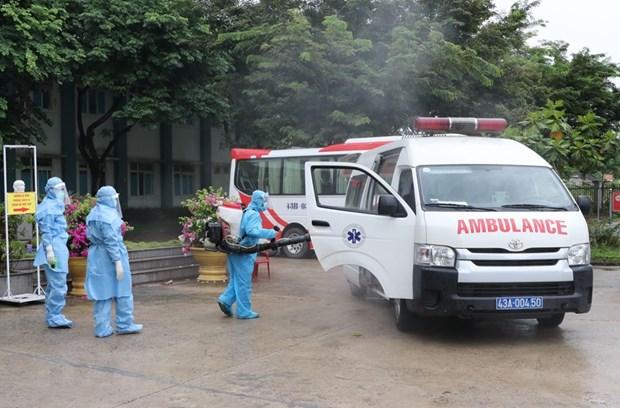 Da Nang's Hoa Vang field hospital ready to treat COVID-19 patients hinh anh 1