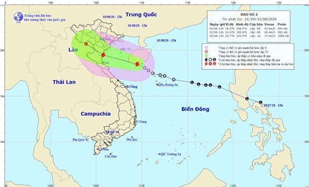 Storm Sinlaku enters East Sea, downpours occur in northern, central regions hinh anh 1