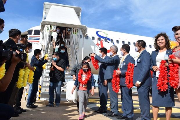 Thai Vietjet inaugurates Bangkok - Khon Kaen flight hinh anh 1