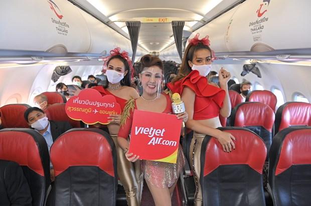 Thai Vietjet inaugurates Bangkok - Khon Kaen flight hinh anh 2