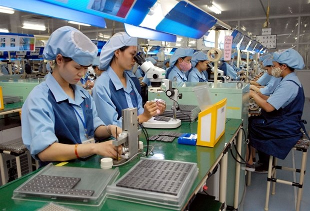 Industrial production index growth at lowest level for many years hinh anh 1