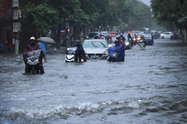 Two die as storm Sinlaku sweeps through northern provinces hinh anh 1