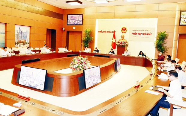 National Election Council convenes first meeting hinh anh 1