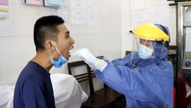 One new COVID-19 case reported early August 3 hinh anh 1