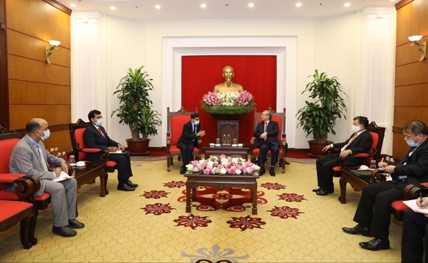 Vietnam wishes to enhance partnership with India: Party official hinh anh 1