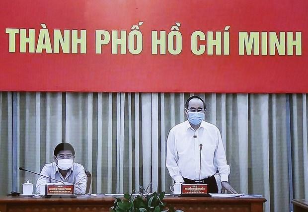 HCM City prepares scenario for 50 new COVID-19 cases hinh anh 1