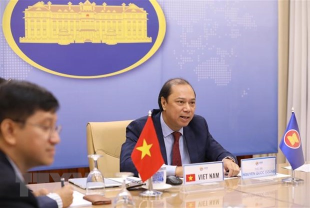 Vietnam attends 33rd ASEAN-US Dialogue hinh anh 1
