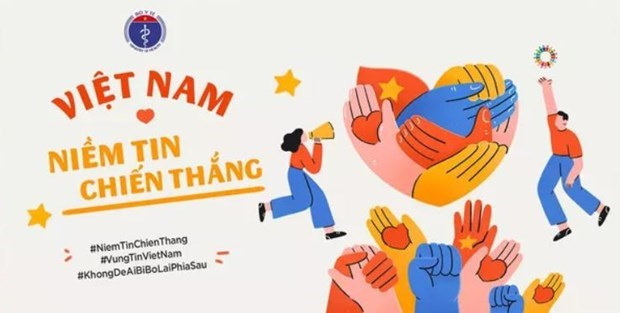 Campaign calling for public involvement in COVID-19 fight launched hinh anh 1